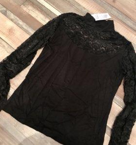 Женская блузка НОВАЯ трикотаж водолазка р.44-46-48