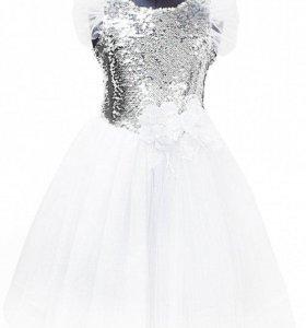 Празничное платье на девочку рост 110 см