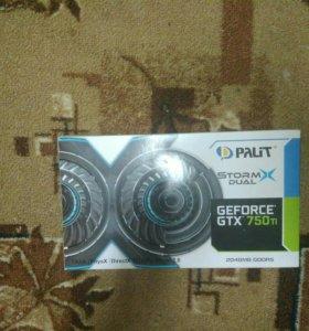 Palit gtx 750 ti 2gb StormX dual