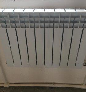 радиатор ремсан 10 секций в упаковке новые 3 штуки