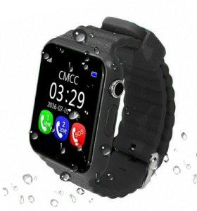 Детские GPS часы-телефон + подарок!