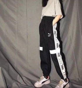 спортивные штаны puma со светоотражателем