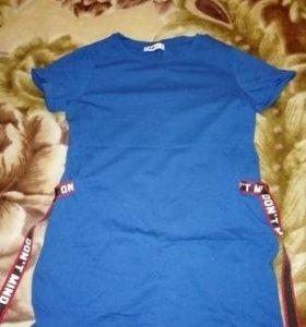 Удлинённая футболочка