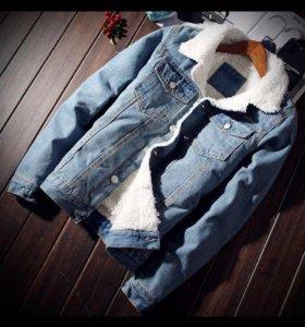 Джинсовая куртка с подкладкой