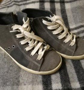 Ботинки нат замша котофей 30