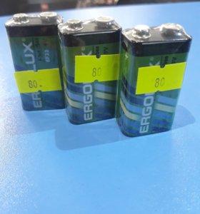 6F22 батарейки