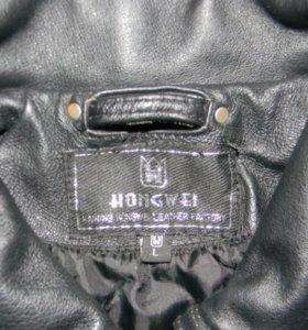 Куртка кожаная мужская плотная