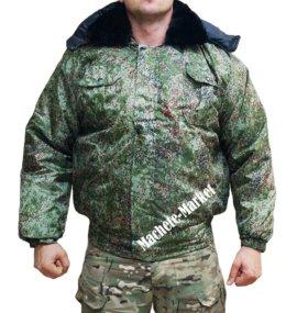 """Куртка камуфляжная утеплённая """"Пиксель"""""""