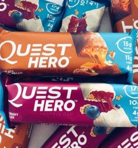 Вкуснейшие протеиновые батончики Quest Hero
