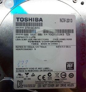 HDD Жесткий жиск 2TB