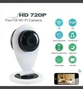 IP WiFi камеры видеонаблюдения.