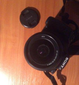 Зеркальный фотоаппарат Sony SAL18552