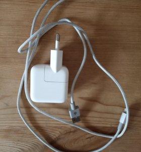 Адаптер и кабель для айфона