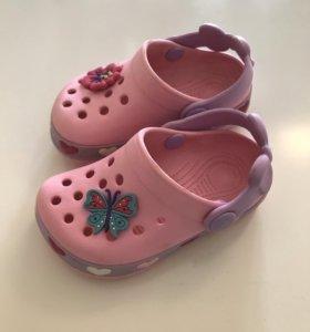 Пляжная обувь для девочки