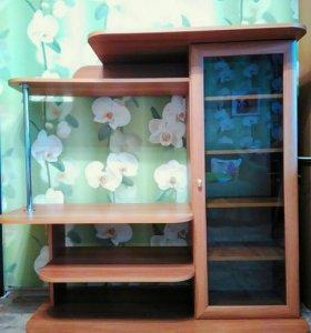 ТВ-тумба с книжным шкафом (горка)