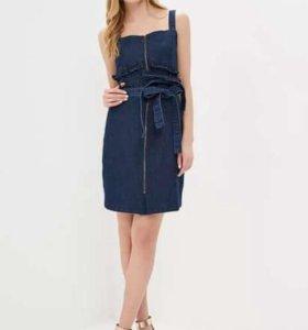 Платье-мини LOST INK джинсовое