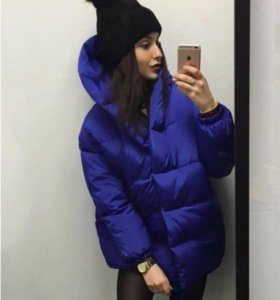 Куртка Зефирка Синяя