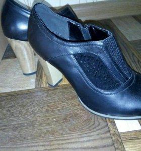 Осенние-весенние туфли