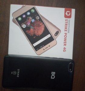 Новый смартфон BQ Strike Power 5037 + селиконовый