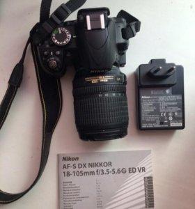 Фотоаппарат(с объективом) Nikon D3100