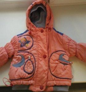 Куртка на девочку весна - осень