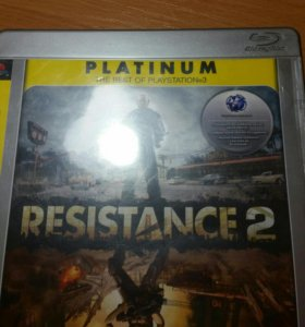 RESISTANCE 2 PLATINUM ДЛЯ PS3