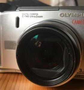 Фотоаппарат Olympus Camedia C-740 Ultra Zoom