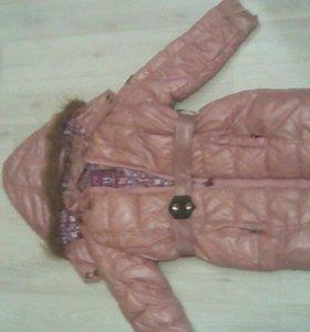 Верхняя одежда на девочку 105-110