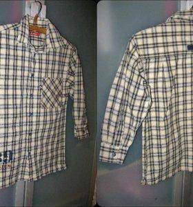 детская рубашка примерный возраст 6-7 лет