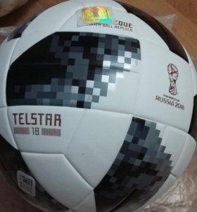 Футбольный тренировочный мяч Adidas Telstar 2018
