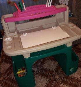 Стол-парта Lerado для детского творчества