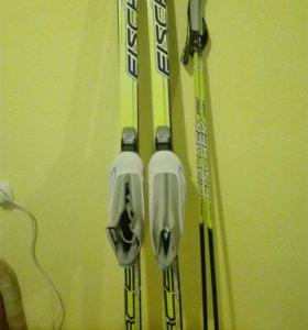 Лыжи подростковые