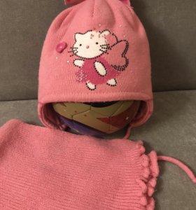 Зимняя шапочка р 50-52