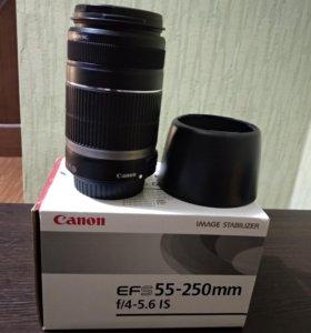 Объектив Canon EFS 55-250