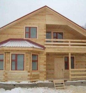 Строительство частных домов.
