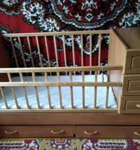 кроватки трансформеры