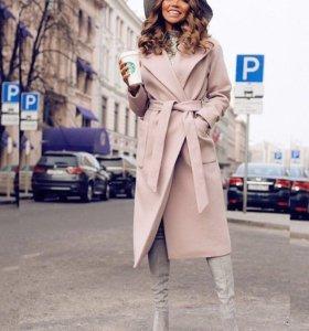 Пальто кашемировое зимнее