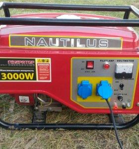 Бензиновый генератор 3000