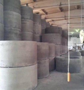 Кольца бетонные для всех видов колодцев