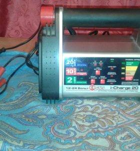 Автоматическое зарядное устройство 12-24 вольта