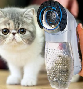 Машинка для вычёсывания шерсти у кошек и собак