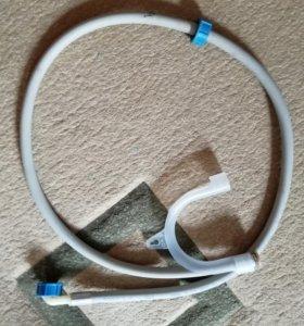 Шланг сливной от стиральной машины с держателем