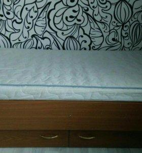 Кровать детская с ортопедическим матрацем 150 х 85