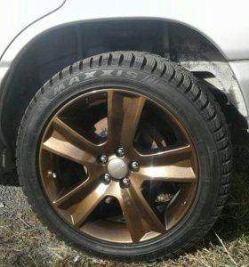 Комплект зимних колёс 215.50.R17