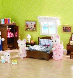 Sylvanian Families(спальня)