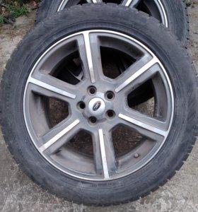 Колеса Range Rover