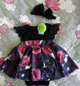 Платье (6-9 месяцев)