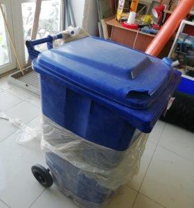 Бак мусорный 175 литров