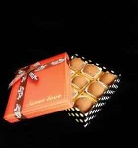 Трюфели из бельгийского шоколада
