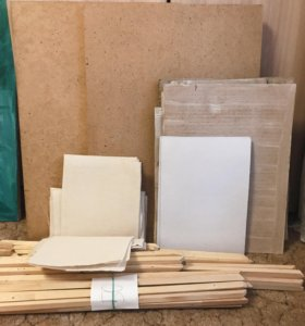 Планшеты, картон, двунитка, реечки
